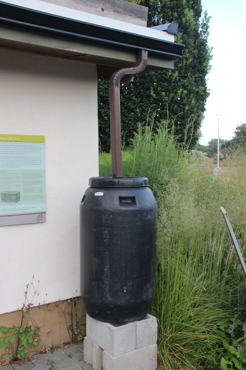 雨水桶工作原理